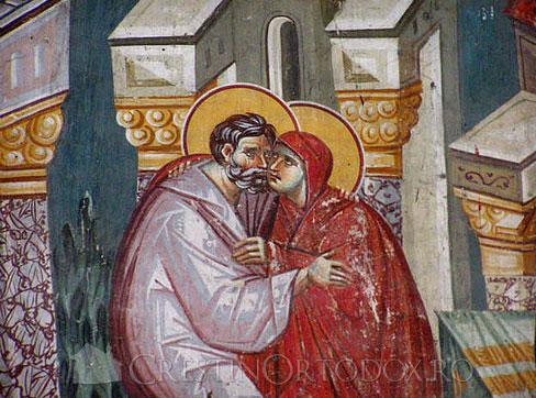 Zamislirea Sfintei Fecioare Maria -Sfintii Ioachim si Ana
