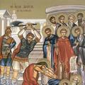 Sfintii 10 mucenici din Creta