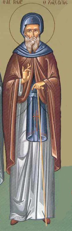 Sfantul Gheorghe Hozevitul