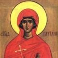 Sfanta Mucenita Tatiana romana - 12 ianuarie