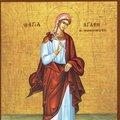 Sfanta Mucenita Agata