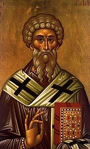 Sfantul Mucenic Vlasie; Sfanta Teodora imparateasa