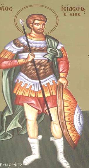 Sfantul Mucenic Isidor