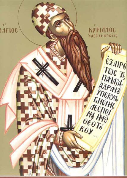Sfantul Chiril, Patriarhul Alexandriei