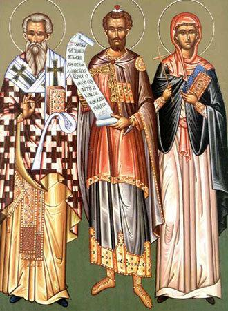 Sfintii Vavila, Hristodula, Prorocul Moise