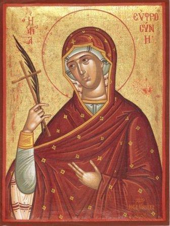 Sfanta Cuvioasa Eufrosina