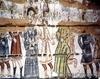 Biserica de lemn din Dobricu Lapusului - Iisus adus la Caiafa