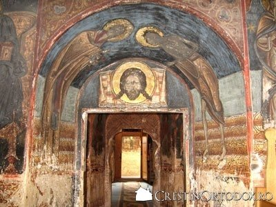 Manastirea Humor - Naosul, Gropnita, Pronaosul, Pridvorul