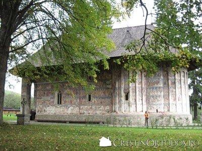 Manastirea Humor - Peretele sudic