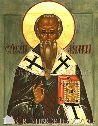 Sfantul Ioan cel Milostiv - 12 noiembrie