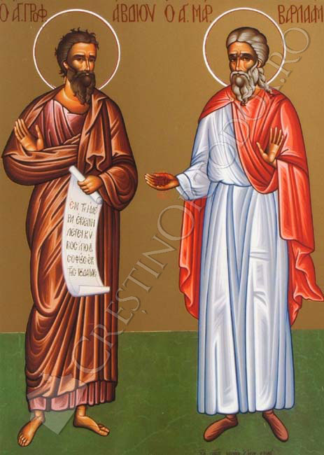 Sfantul Prooroc Avdie; Sfantul Mucenic Varlaam